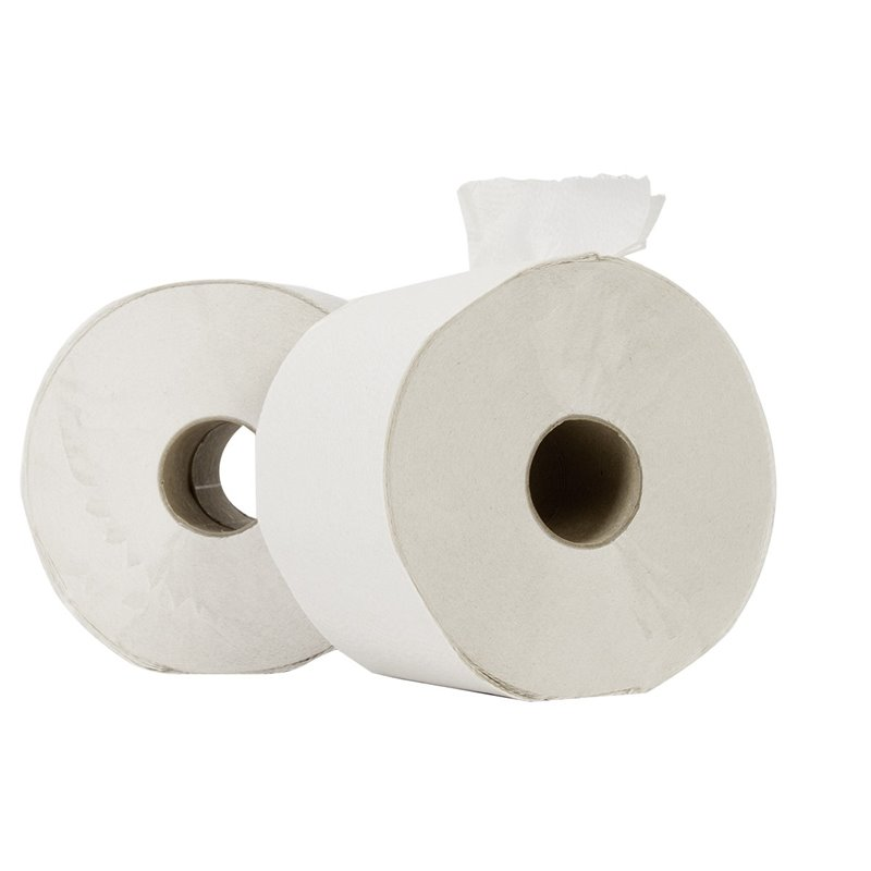 Toilet paper Compact (EM) Tissue White (without a cap) 100m 714 Sheets  - Horecavoordeel.com