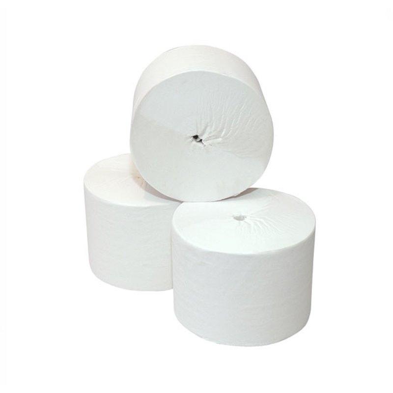 Toiletpapier Coreless (EM) 2 Laags Tissue Wit 104m 900 Vel Horecavoordeel.com