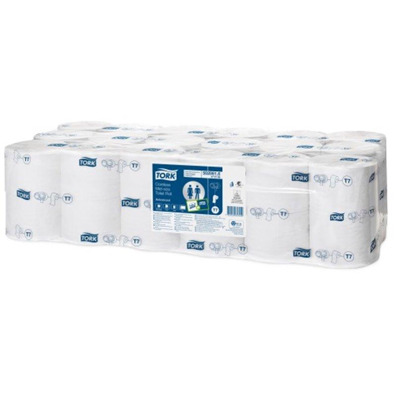 Toilet paper Tork T7 Advanced 2 Layers Coreless - Horecavoordeel.com