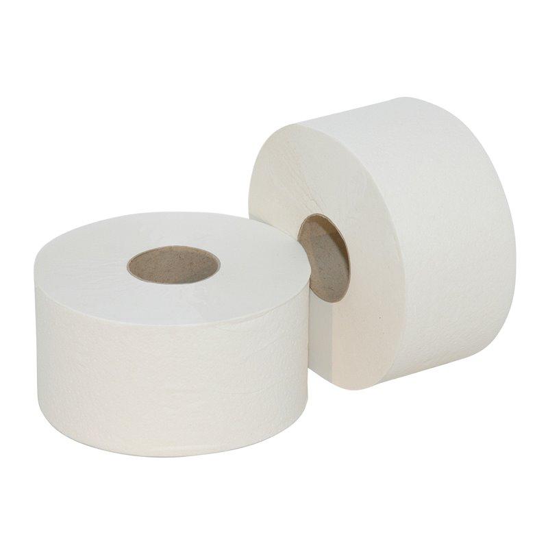 Toilet paper Mini Jumbo (EM) 2 Layers 180m 720 Sheets - Horecavoordeel.com