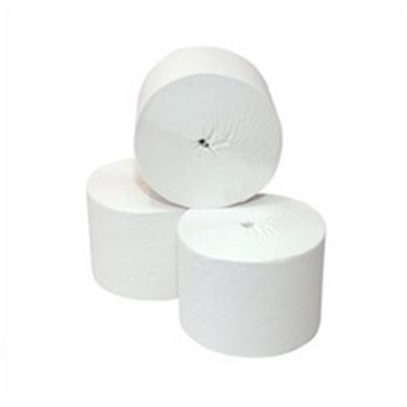 Toilet paper Coreless Robaline2 Layers Tissue White 104m 900 Sheets - Horecavoordeel.com