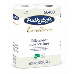 Toilet paper Bulkysoft 150 Sheets 4 Layers White