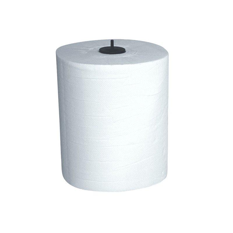 Roll towel Maticplus (EM) 2 layer White 150m - Horecavoordeel.com