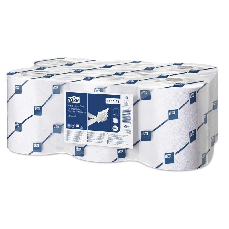 Roll towel Tork Advanced H12 White 2 layer - Horecavoordeel.com