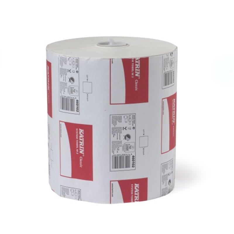 Roll Towel Recycled 2-layer 21cmx160m White Katrin - Horecavoordeel.com