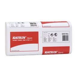 Handdoek Recycled L3 Katrin Inter Gevouwen 3 Laags W-vouw 235 x 340mm
