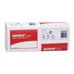 Towel Recycled Zig-zag Katrin 2-layer Zz / V-fold 23,2x23cm