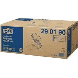 Handdoek Z-vouw Tork 2 Laags 25x23cm 290190
