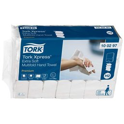Handdoeken Tork Express Multifold 2-laags Wit