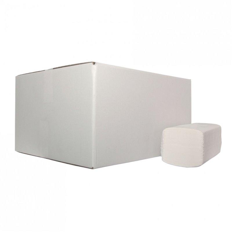 Towelje Z-fold (EM) Tissue White 2-layer 21x24cm - Horecavoordeel.com
