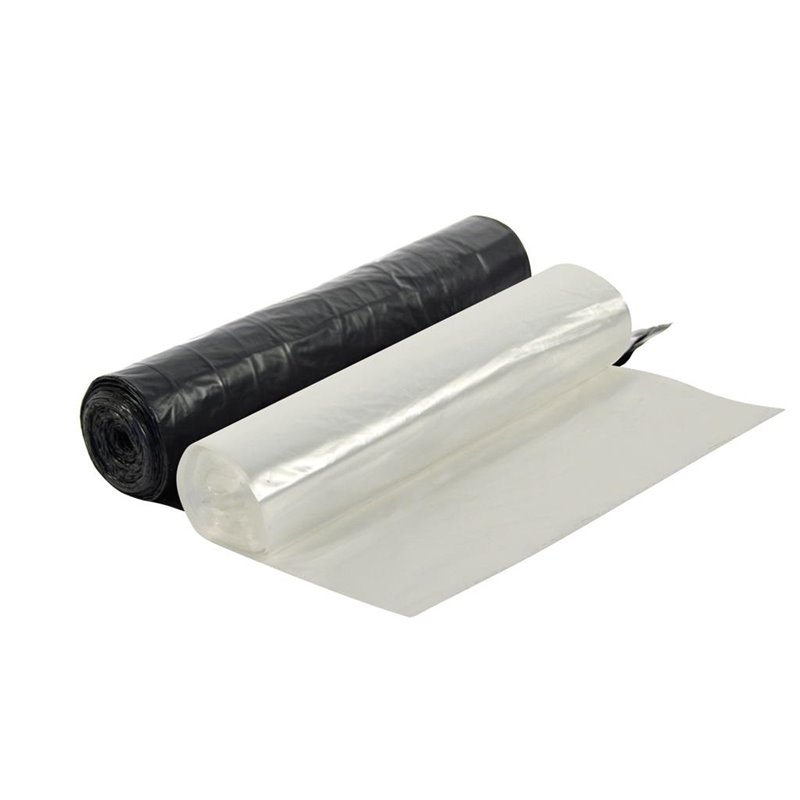 Pedal bin bag Eco White-Transparent 73 60x72cm 6my (Small package) - Horecavoordeel.com