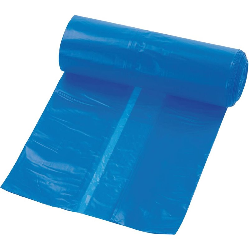 Trash bag 65-20x125cm T70 Blue - Horecavoordeel.com
