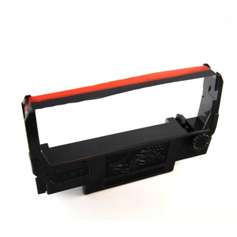 Printerlint voor Bonnen Printer Rib 042 Epson Erc 30-34-38 Rood-Zwart Horecavoordeel.com