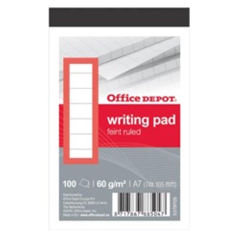 Writing pad Lined A7  - Horecavoordeel.com