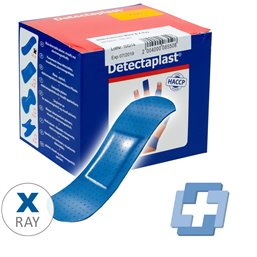 Detection Finger Plaster Waterprowith Blue 25x72mm