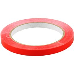 Tape voor Zakkensluiters Rood 66 meter x 9mm