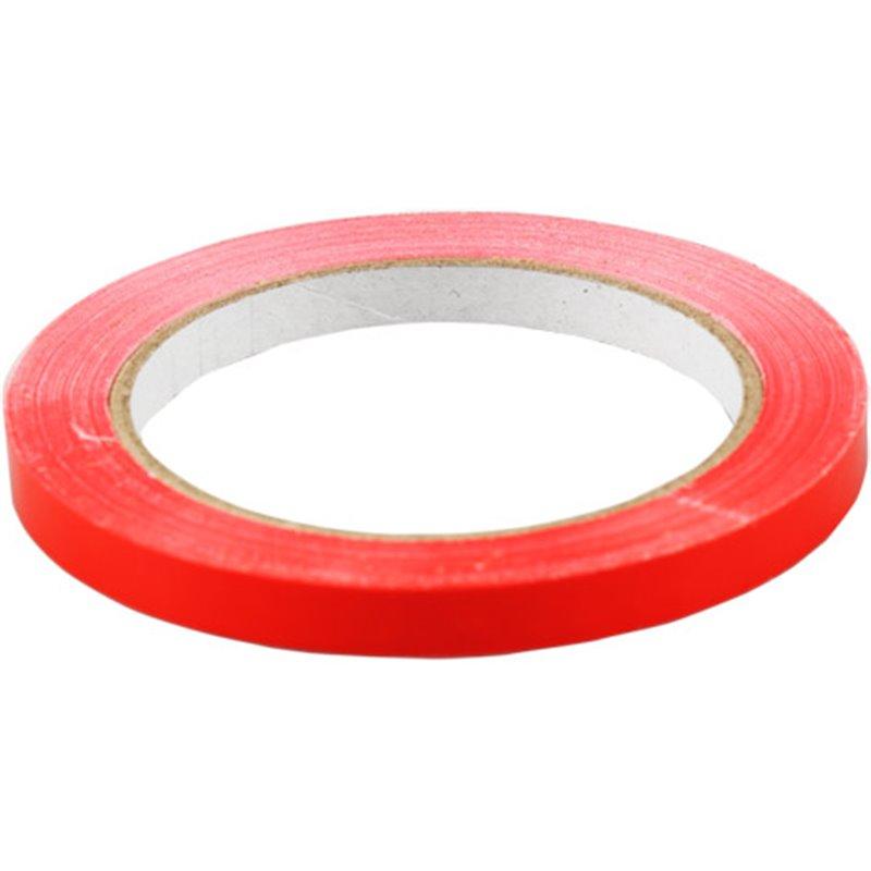 Tape Zakkensluiter Rood 66 meter x 9mm Horecavoordeel.com