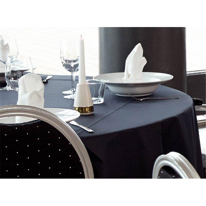 Tablecloth Duni Evolin Black 127x127cm - Horecavoordeel.com