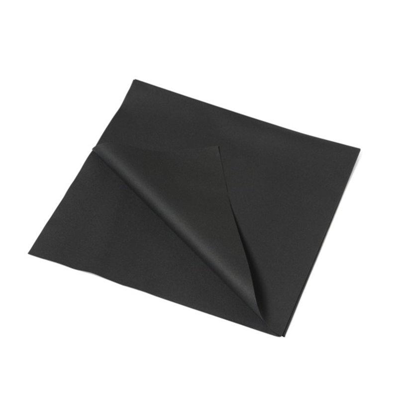 Tafelkleed Airlaid Zwart 70 Grams Horecavoordeel.com