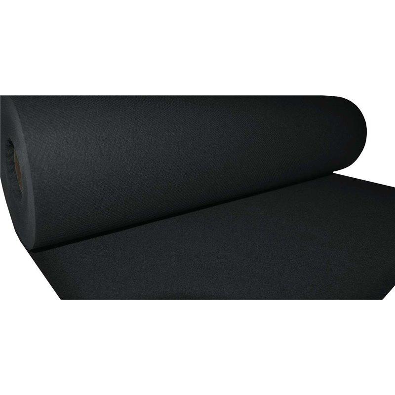 Table Roll Black Airlaid 120x25cm - Horecavoordeel.com