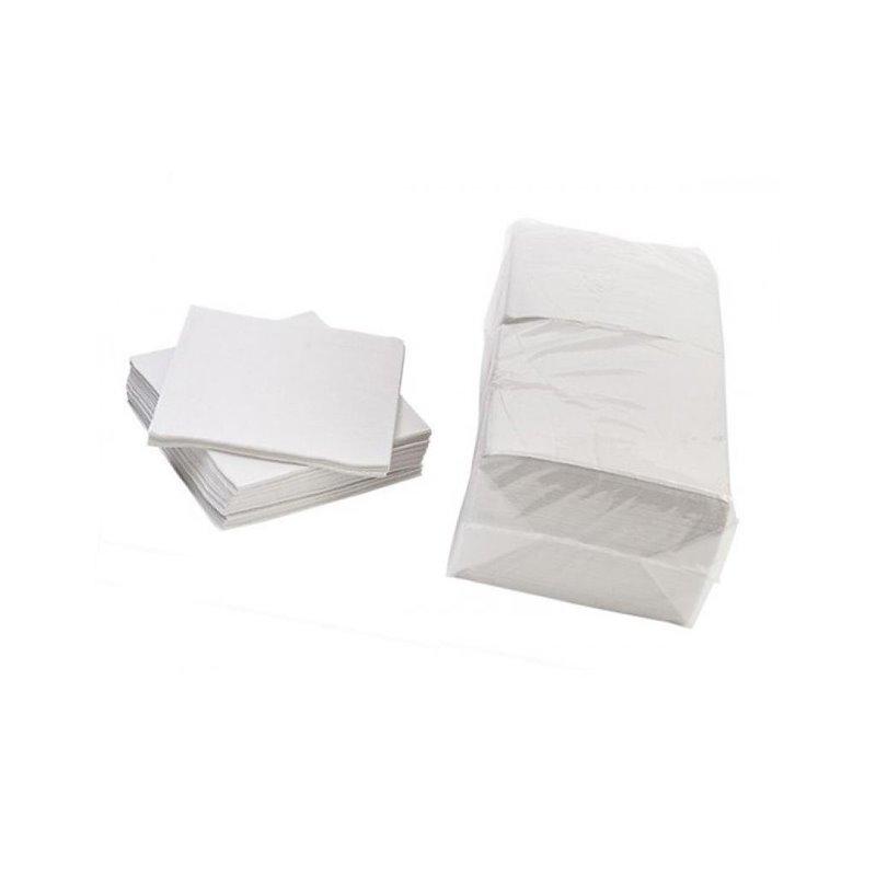 Napkins White 33x33cm Celulose 1 Layers - Horecavoordeel.com