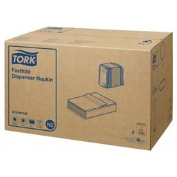 Dispenser Servetten Wit Tork N2 1 Laags 240 x 290mm