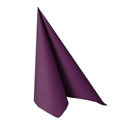 Napkins Purple 33x33cm 2 Layers 1-4 fold