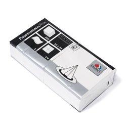 Servetten Wit 2 Laags 1/4 Vouw Fasana 330 x 330mm Horecavoordeel.com
