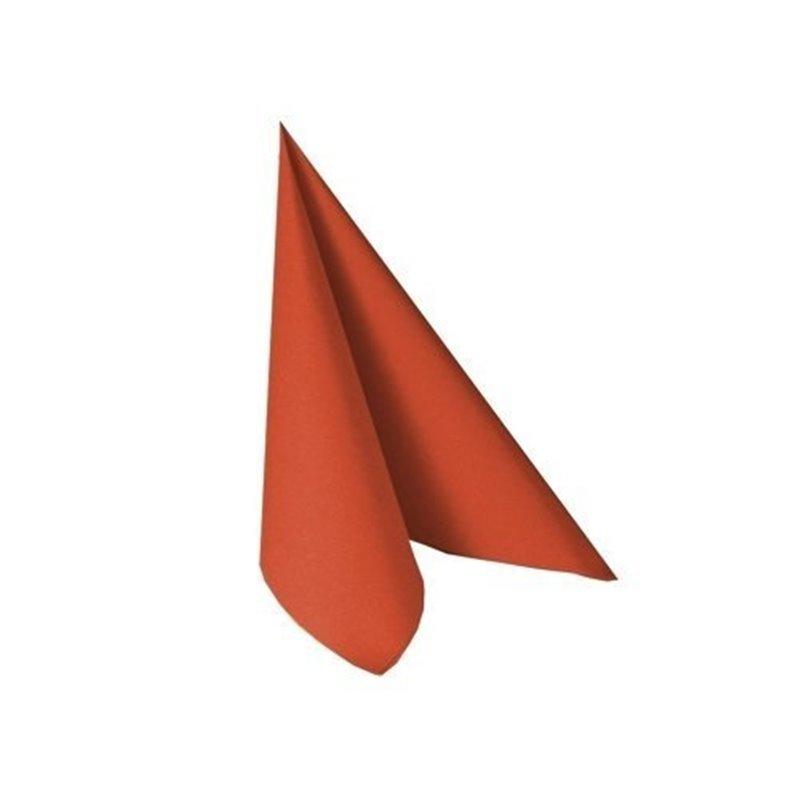 Napkins Terracotta 33x33cm 2 Layers 1-4 fold - Horecavoordeel.com