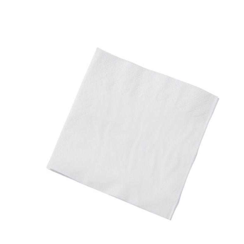 Napkins White 40x40cm 3 Layers 1-4 fold Fasana - Horecavoordeel.com