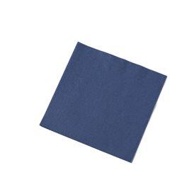 Servetten Blauw 3 Laags 1/4 Vouw Fasana 400 x 400mm