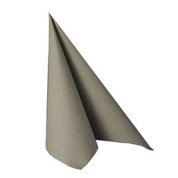 Napkins Grey 40x40cm Airlaid 50 Grams 1-4 fold Mank