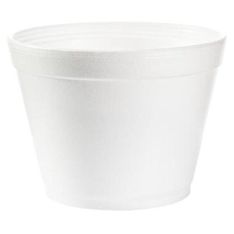 Foam Cup white 115mm 473ml 16oz 16mj32 (Small package) - Horecavoordeel.com