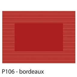 Placemats Bordeaux Rood Papier 300 x 420mm (Klein-verpakking)