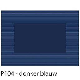 Placemats Blauw Papier 300 x 420mm (Klein-verpakking)