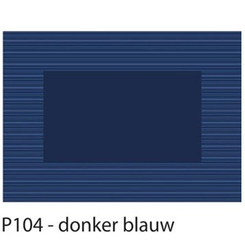 Placemats Blauw Papier 300 x 420mm Horecavoordeel.com