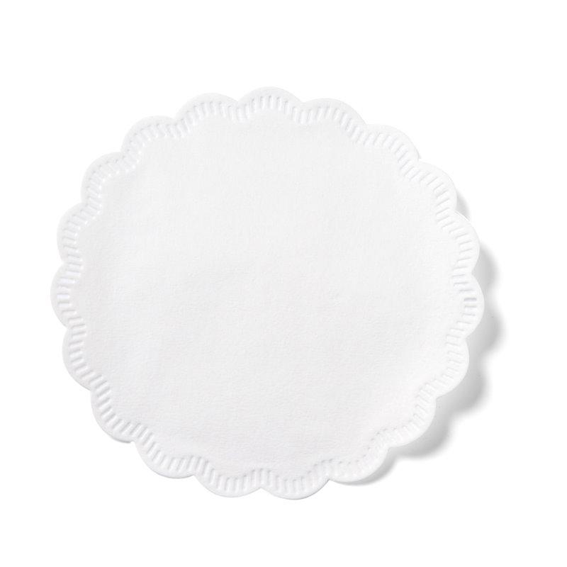 Coasters White Cellulose 8 Layers 7,5cm - Horecavoordeel.com