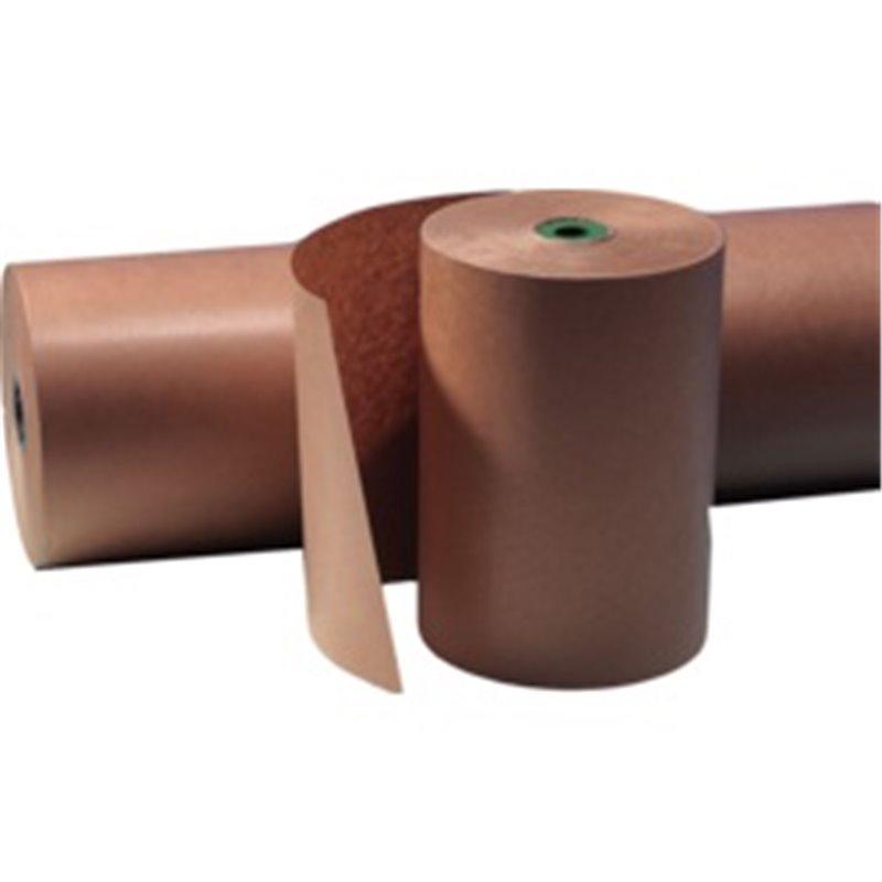 Roll Packing Paper Brown Kraft 70 Grams 100cm Wide Ca 25,5kg  - Horecavoordeel.com