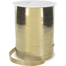 Krullint Metallic Goud 10mm
