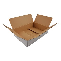 American fold boxes White 302x215x100mm