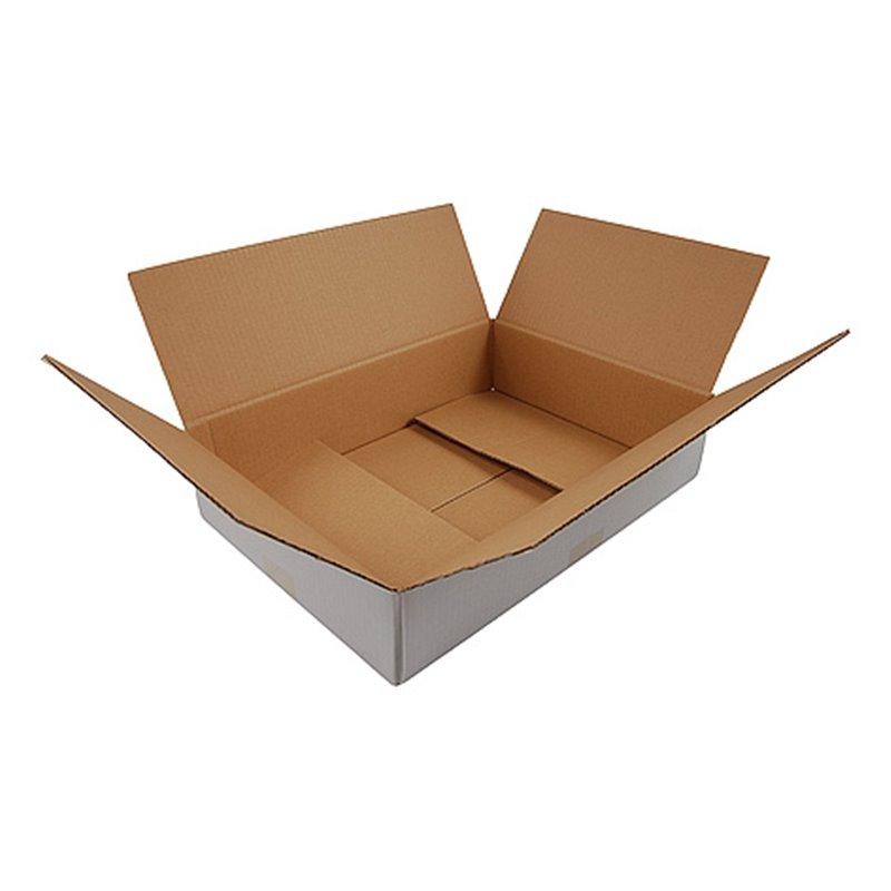 American fold boxes White 302x215x100mm - Horecavoordeel.com
