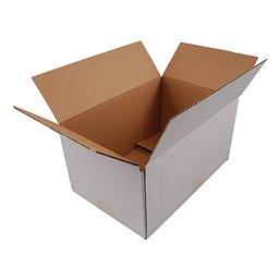 American fold boxes White 302x215x150mm
