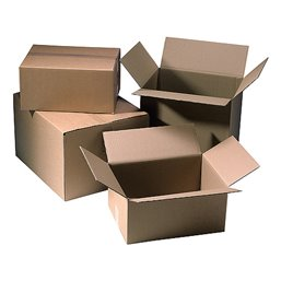 American fold boxes Brown 498x335x250mm