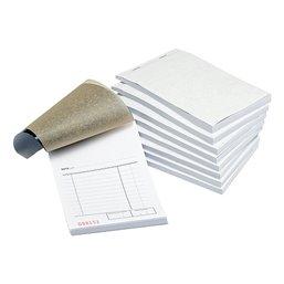 Kassablok met Carbon Houtvrij Genummerd 100 x 150mm