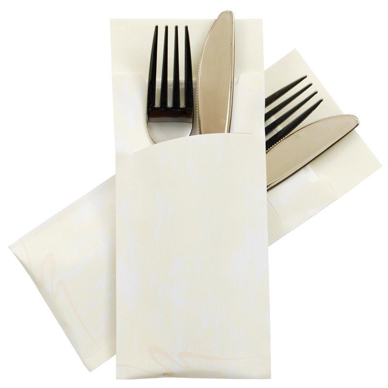 Cutlery bag Nr 2 Creme Pochetto  - Horecavoordeel.com