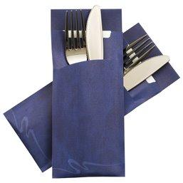 Cutlery bag Nr 4 blue Pochetto