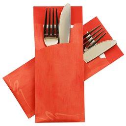 Cutlery bag Nr 3 Orange Pochetto