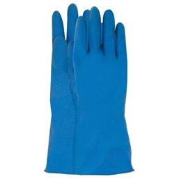 Huishoud Handschoen Blauw CMT Large