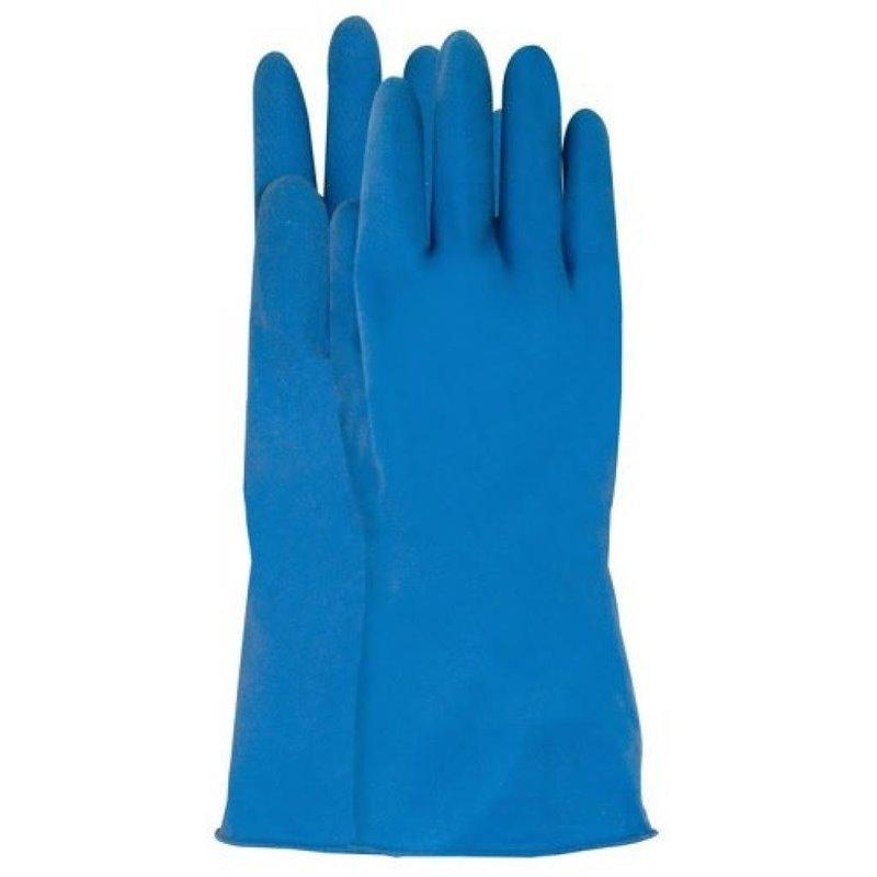 Huishoud Handschoen Blauw CMT Large Horecavoordeel.com