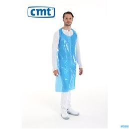 Schort Wegwerp 125x80cm Blauw CMT